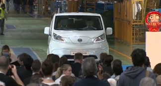 Nissan e-NV200 Production Barcelona