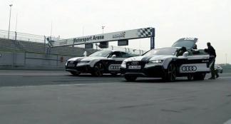 Audi RS7 rijdt zonder piloot over Hockenheimring