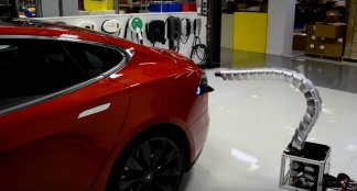 Tesla Model S Charger Prototype