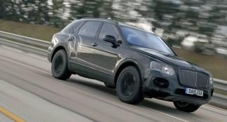 Bentley Bentayga - 301kmh