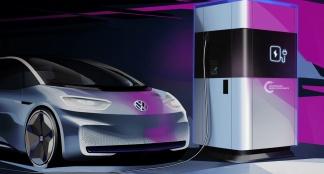 Vw Mobiele Laadstations Voor Elektrische Auto S Auto55 Be Nieuws