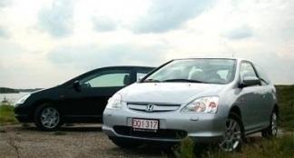 Honda Civic 3-deurs 1.4 LS & 1.6 ES