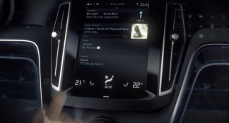 Volvo Concept Estate Next Generation User Interface