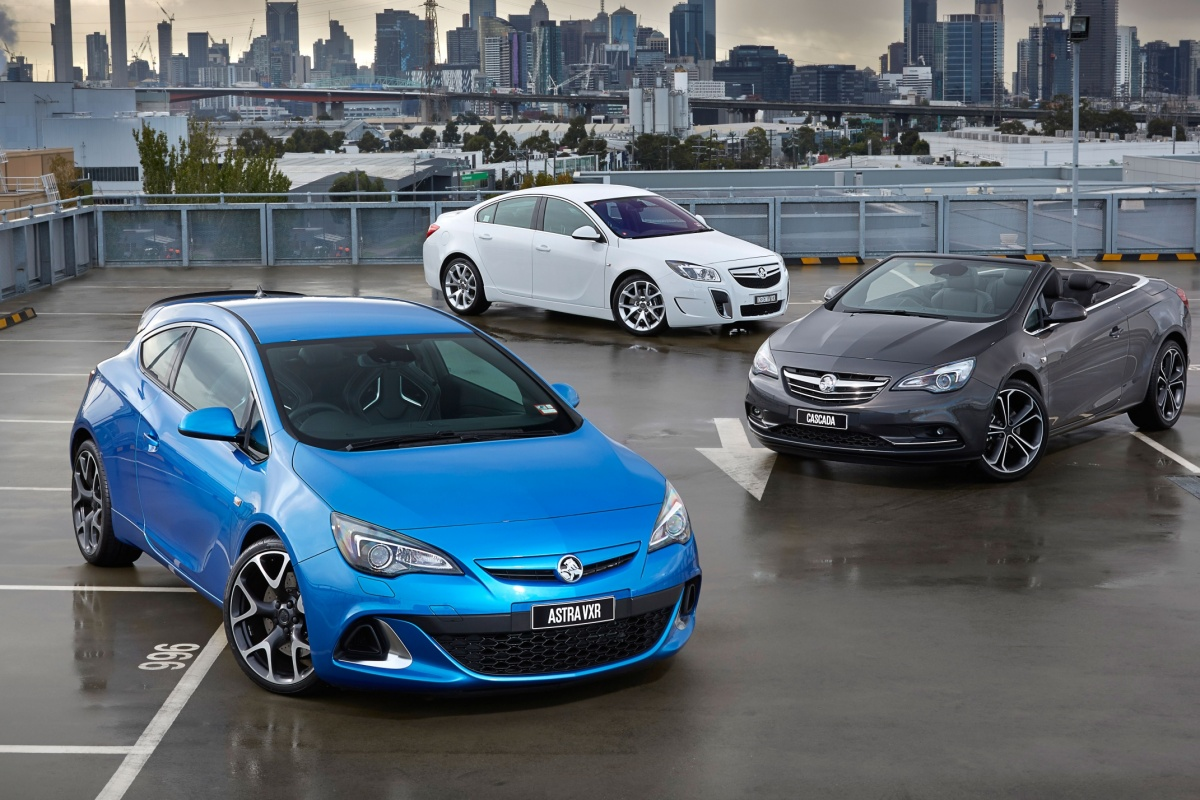 opel astra insignia opc en cascada naar australi nieuws. Black Bedroom Furniture Sets. Home Design Ideas