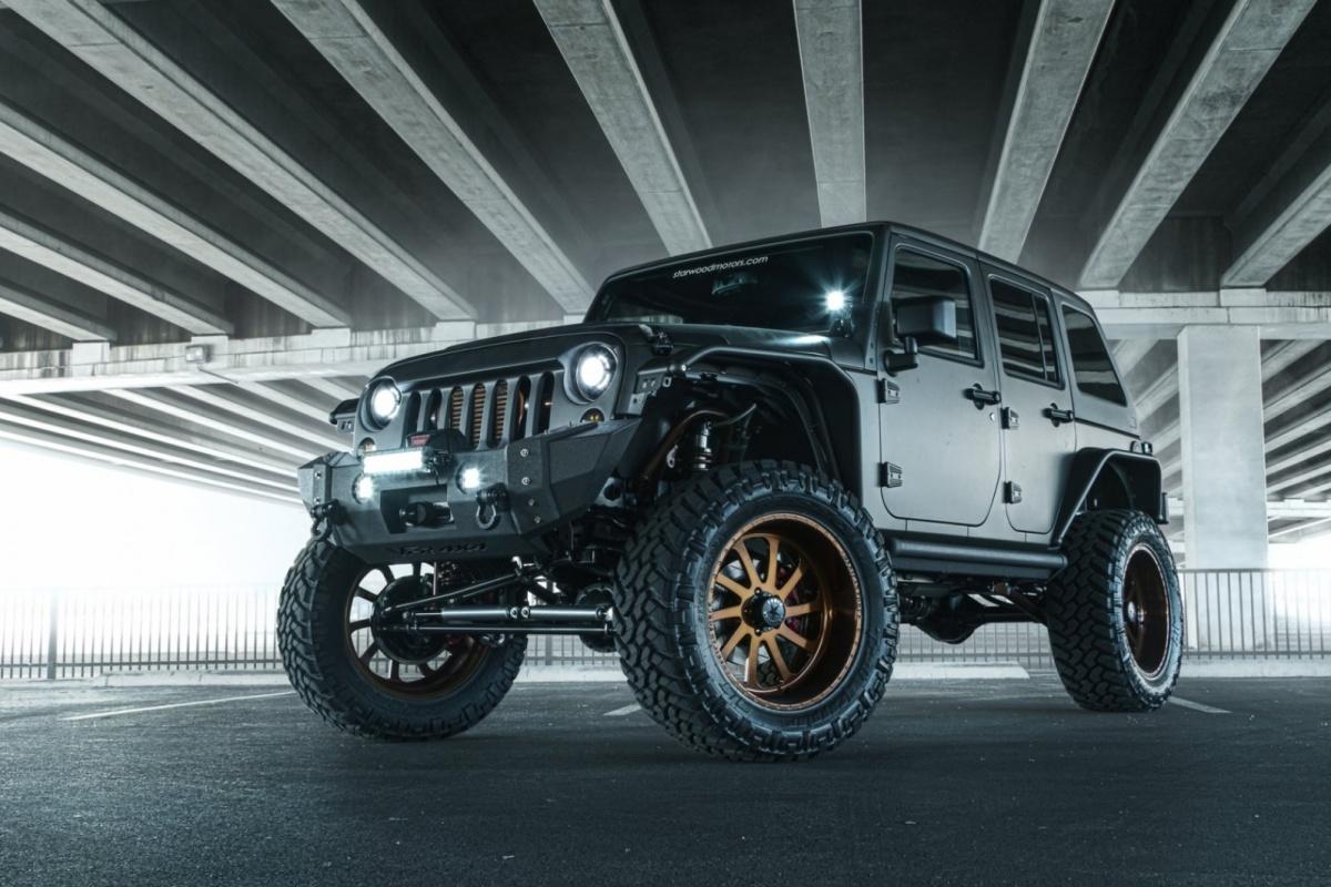 Jeep Wrangler Nighthawk Auto55 Be
