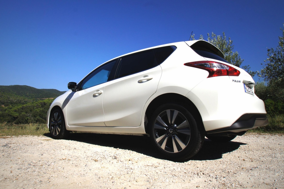 Nissan Pulsar Test