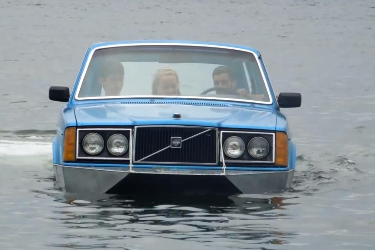 Volvo 240 Is Een Boot Auto55 Be Nieuws