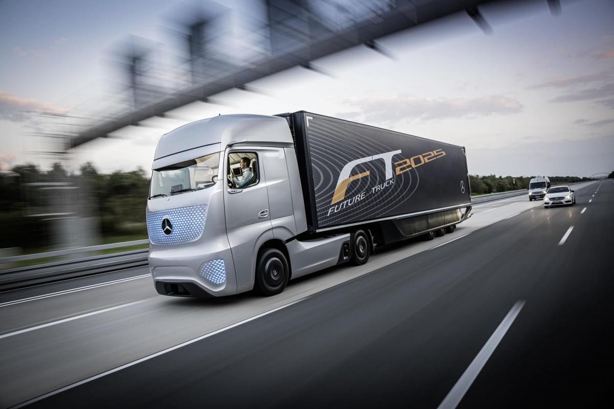 Pictures Of Future Trucks: De Vrachtwagen Van De Toekomst, Volgens Mercedes