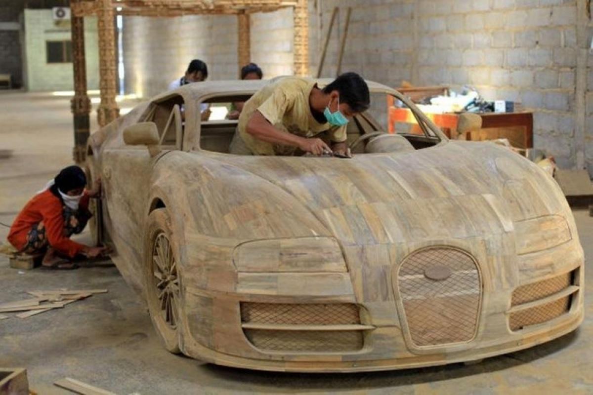 een bugatti veyron uit hout nieuws. Black Bedroom Furniture Sets. Home Design Ideas