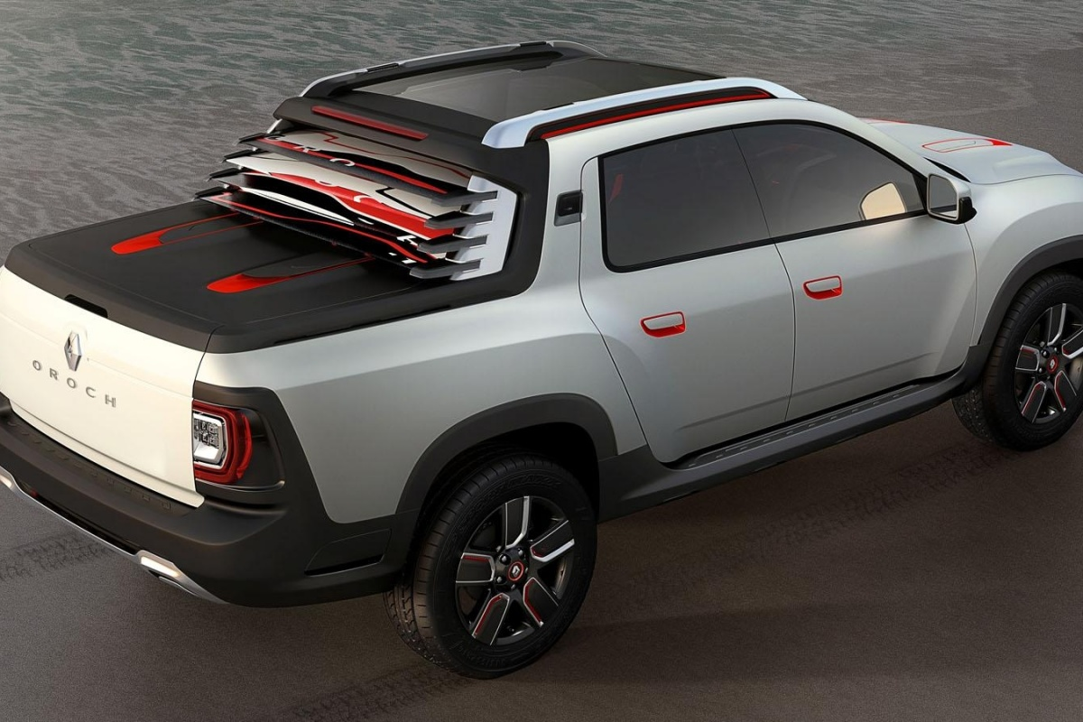 l oroch est une dacia duster pickup actualit. Black Bedroom Furniture Sets. Home Design Ideas