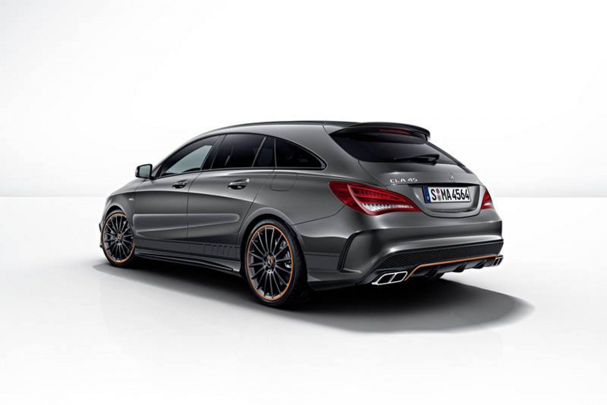 Mercedes Cla Shooting Brake Amg Aux Couleurs De Auto55