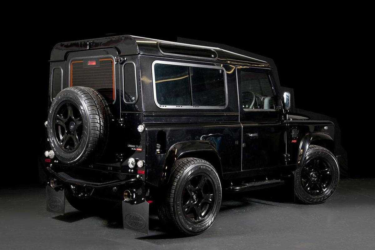 Urban Truck Land Rover Defender Rs Ultimate Auto55 Be