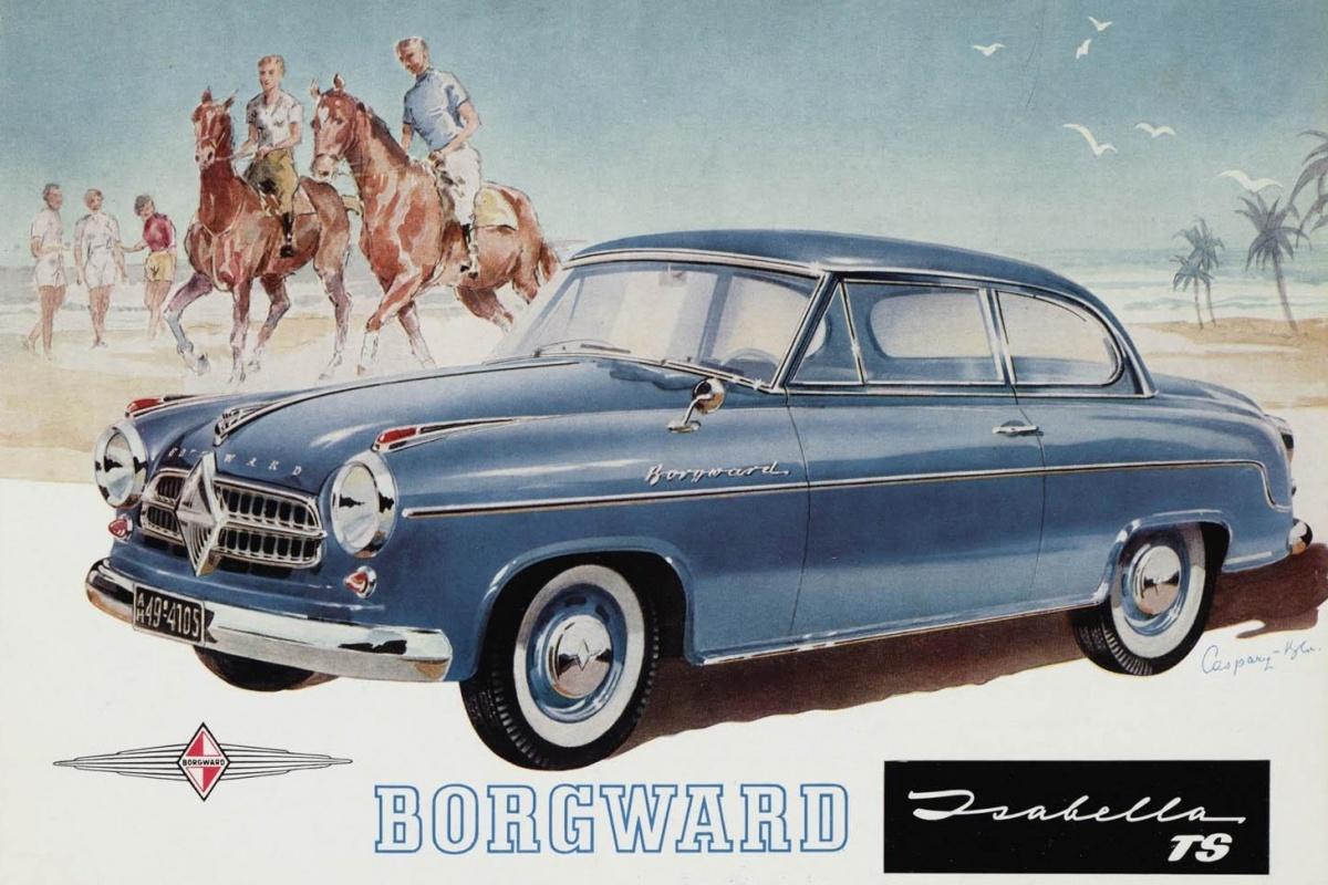 BMW M1 For Sale >> Borgward Isabella (1954 - 1962) | Auto55.be | Retro