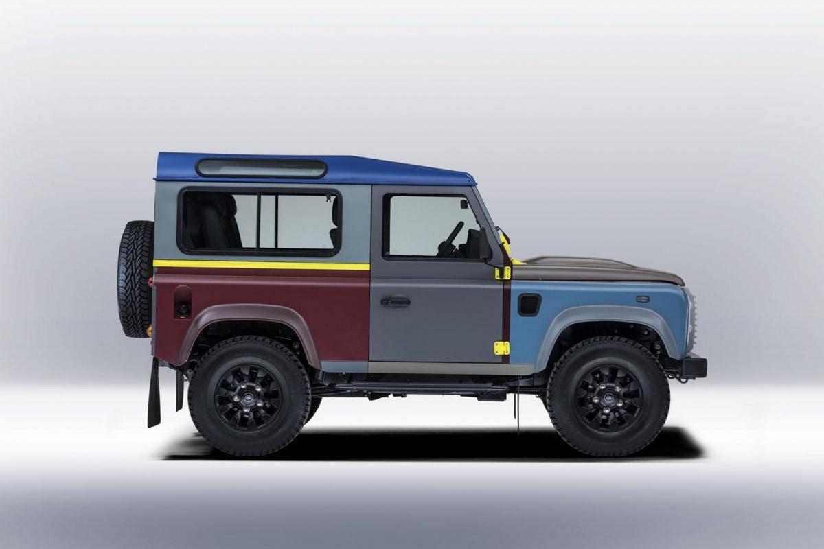 Nieuwe Land Rover Defender Komt In 2018 In 5