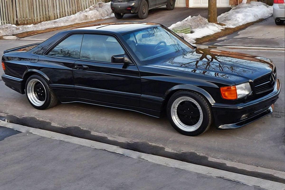 Schaarse Mercedes 560 Sec Amg Geveild Voor 81 000