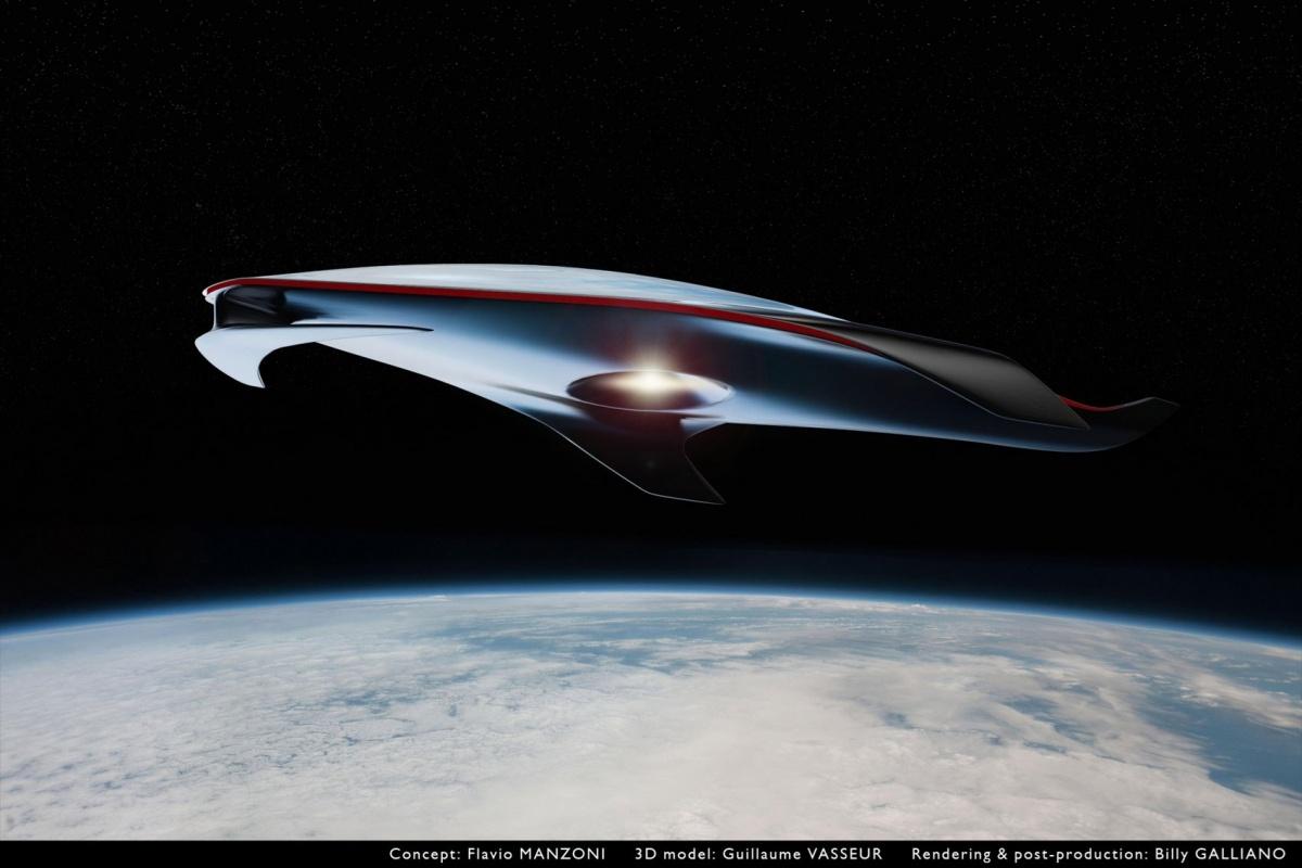 Ferrari 39 s ufo nieuws - Hoe hij zijn teen ruimte organiseren ...