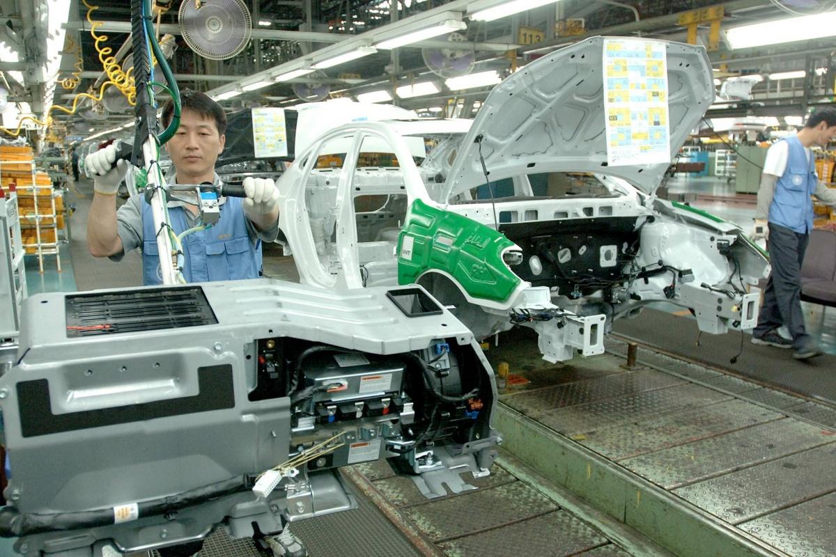 De grootste autofabriek ter wereld is van hyundai nieuws - Spiegelhuis van de wereld ...