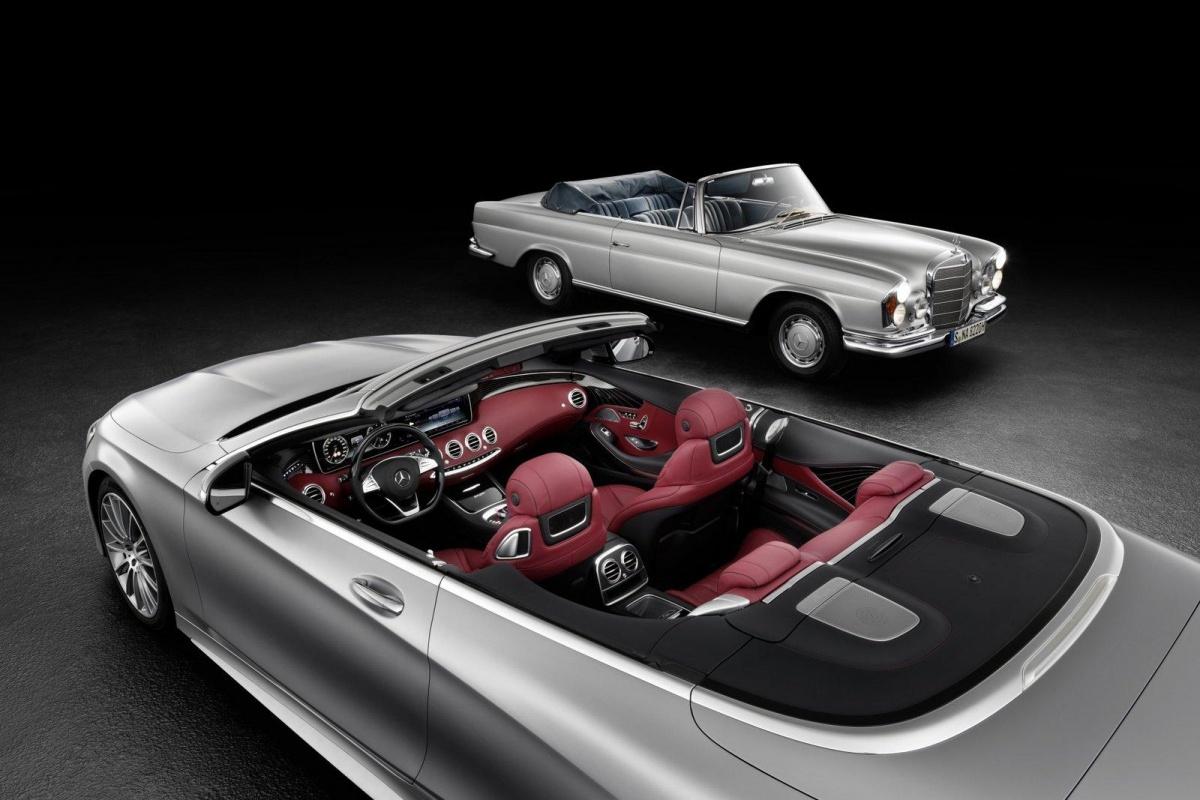 mercedes s klasse cabrio het interieur nieuws. Black Bedroom Furniture Sets. Home Design Ideas