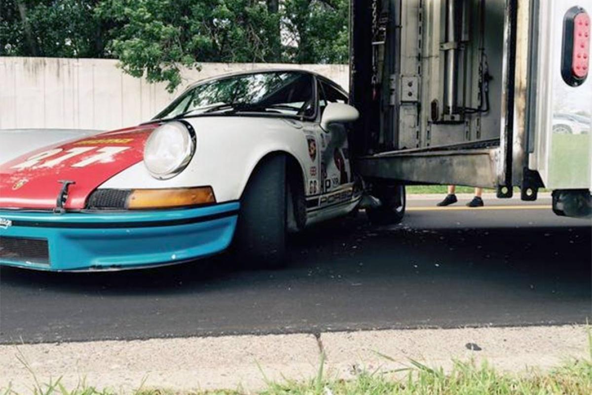 Magnus Walker Plie Sa Porsche 911 277 Auto55 Be
