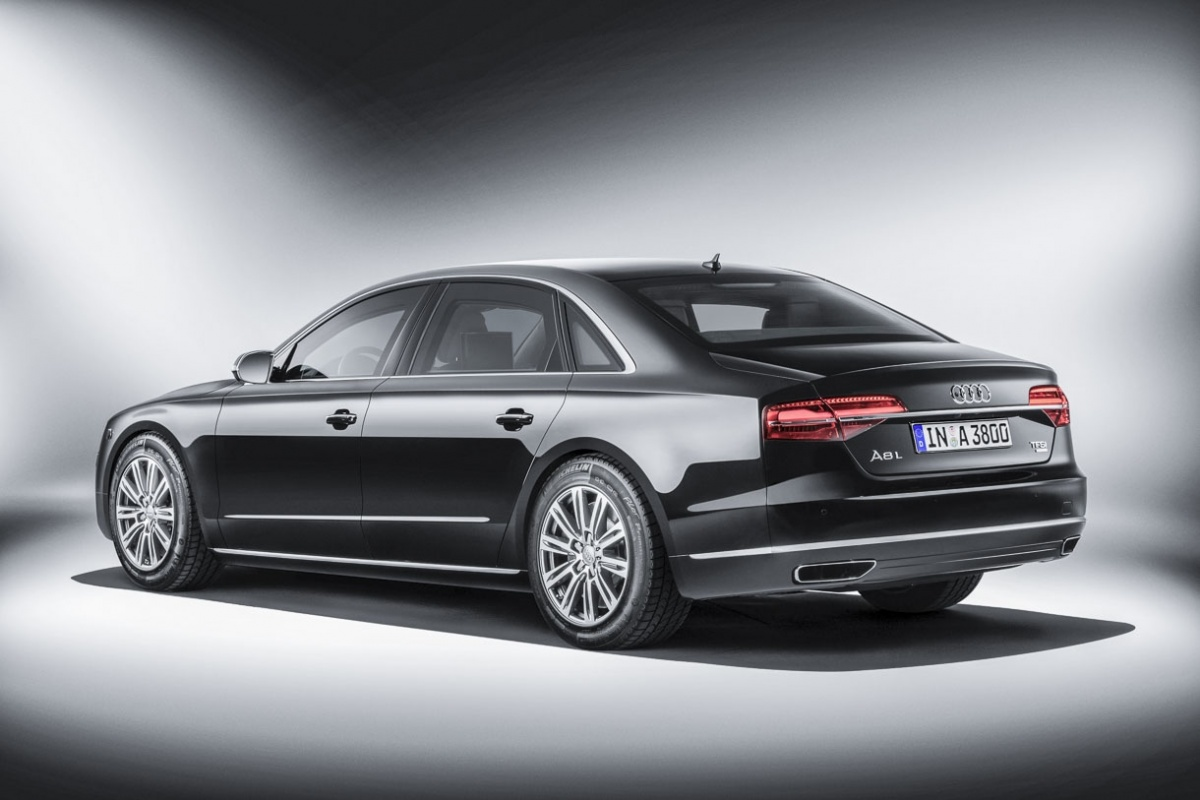 nouvelle audi a8 l security actualit. Black Bedroom Furniture Sets. Home Design Ideas