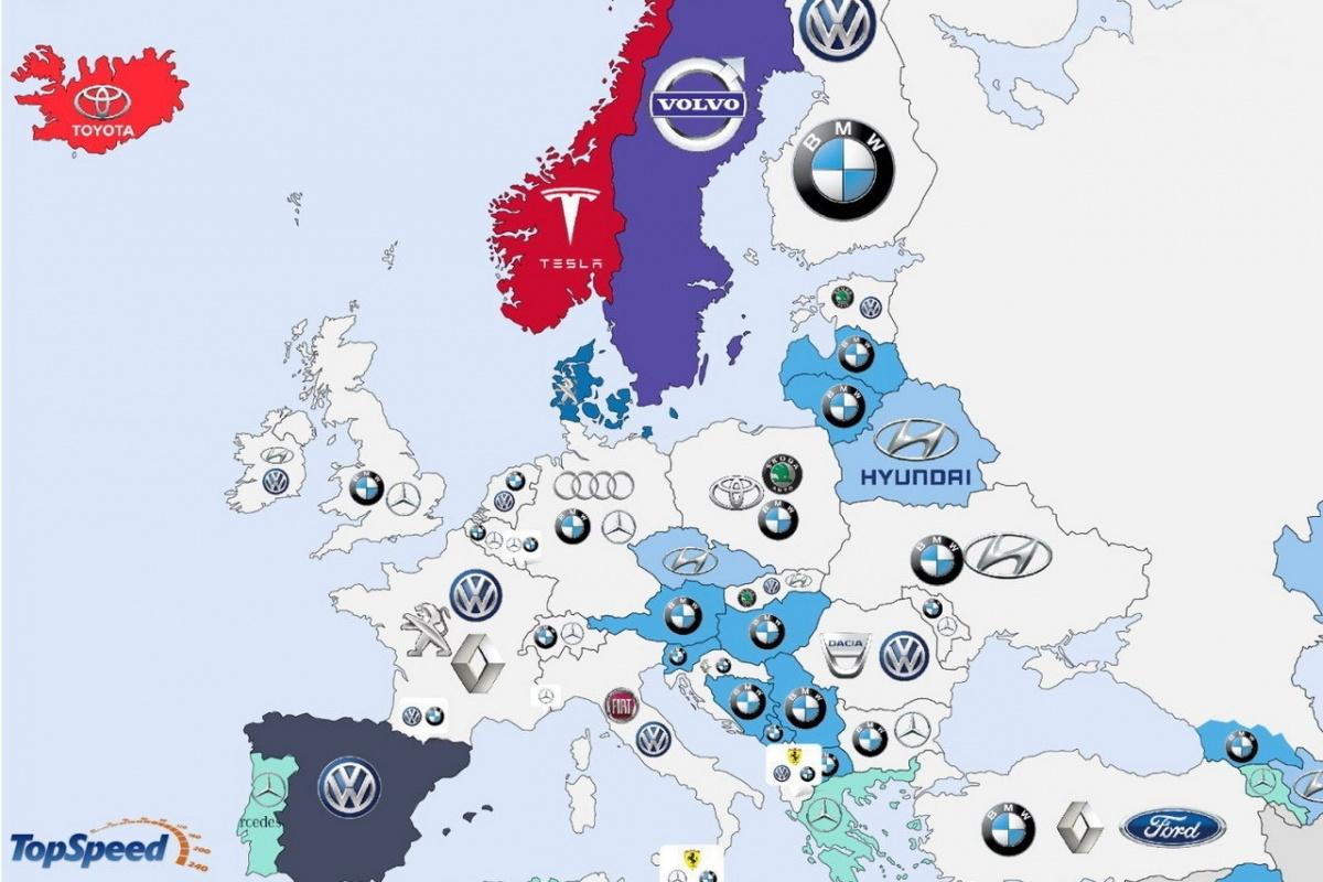 Car Manufacturers Europe Mail