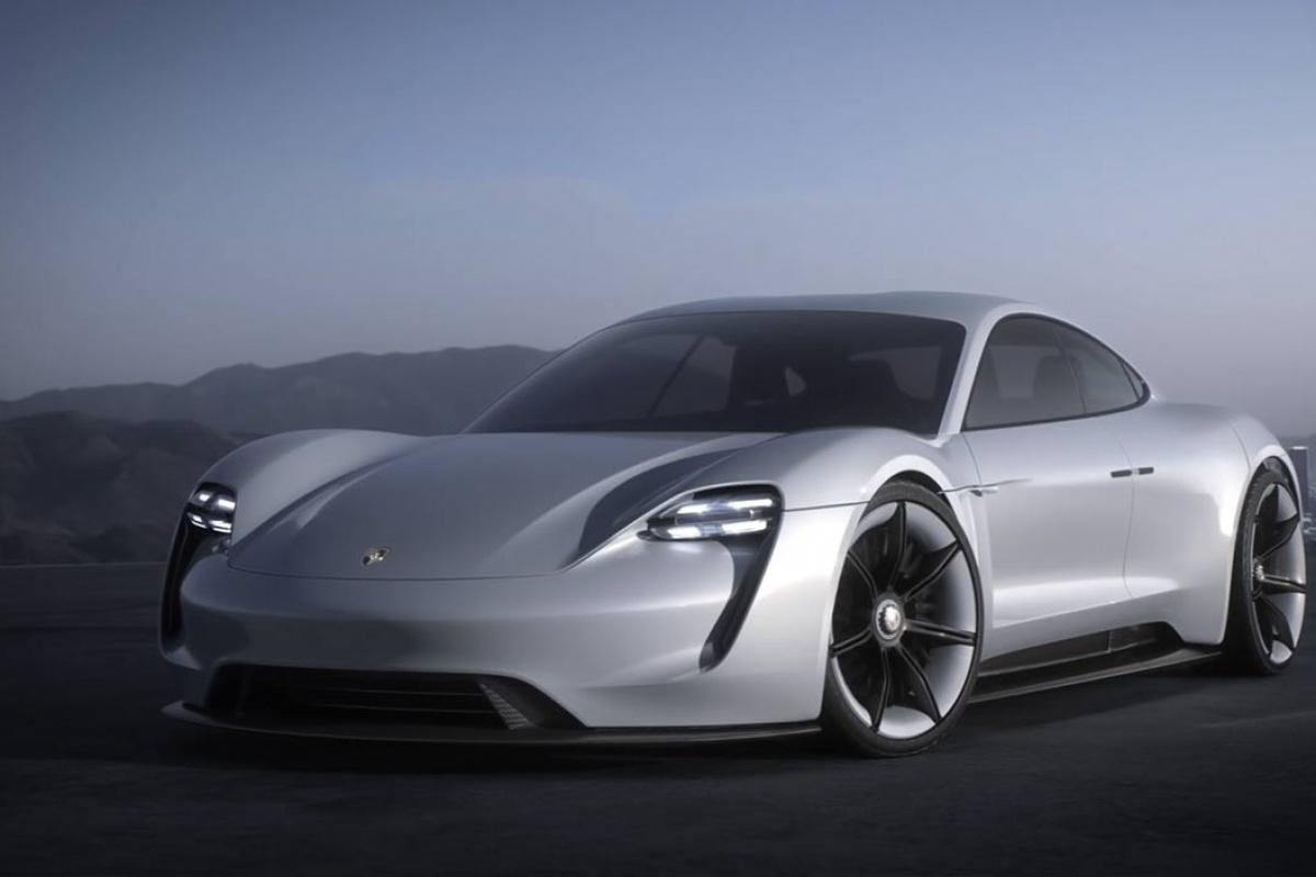 Porsche Mission E Concept Car Auto55 Be