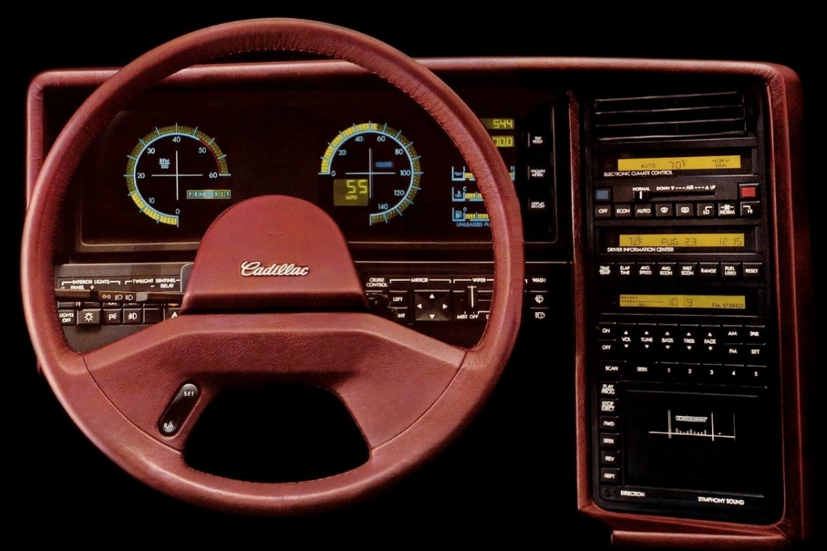5 Digitale Dashboards Uit De Eighties Deel 2 Auto55 Be Nieuws