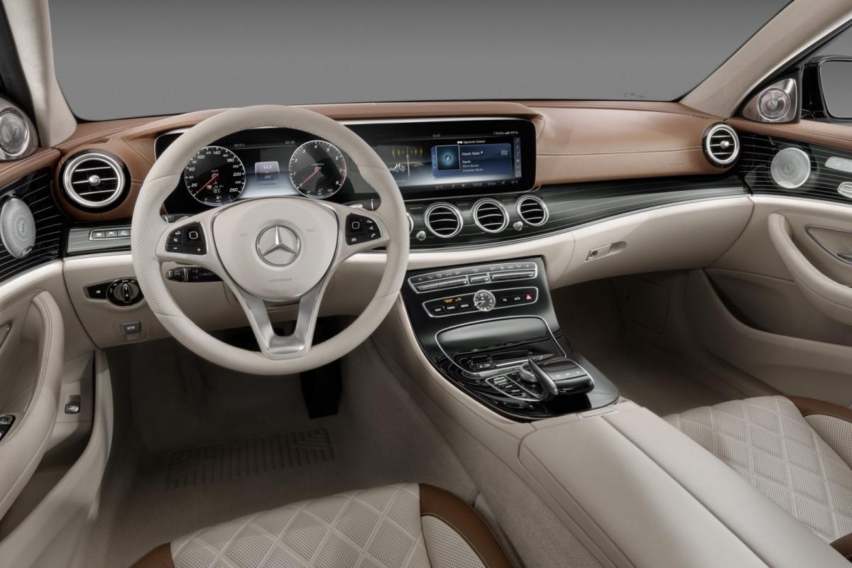 Tesla Model S Interior >> Nieuwe Mercedes E-Klasse: dit is het interieur | Auto55.be | Nieuws