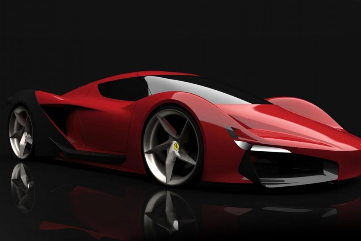 Is Dit De Ferrari Van De Toekomst Auto55 Be Nieuws
