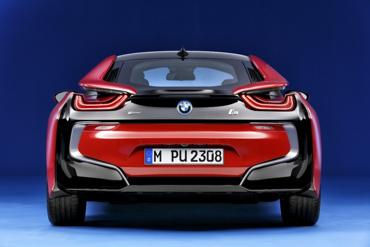 Bmw I8 Protonic Red Edition Auto55 Be Nieuws