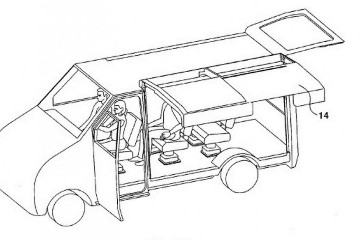 hyundai vraagt patent vleugelschuifdeur aan