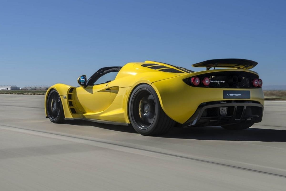 427km U Maakt Hennessey Venom Gt Snelste Cabrio Ter Wereld