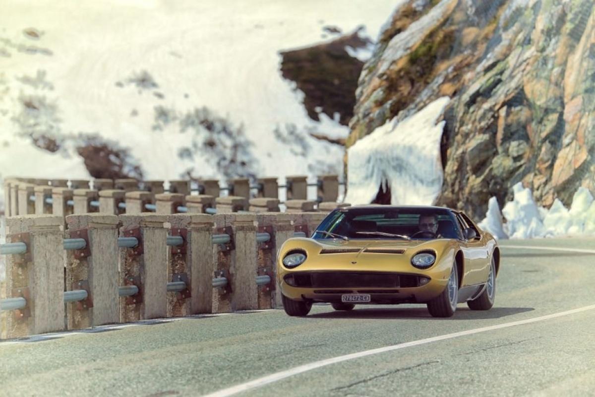 Lamborghini Miura The Italian Job Auto55 Be