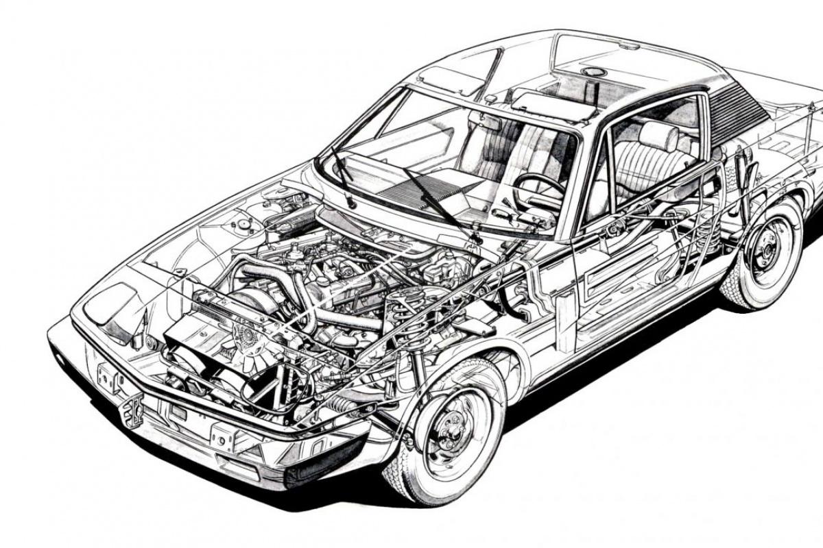 triumph tr7  1974