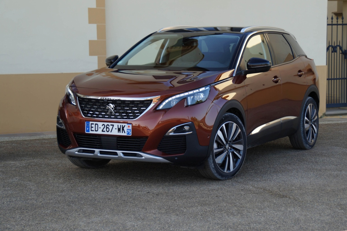 Peugeot 3008 Suv My2017 1 6 Bluehdi Auto55 Be Tests