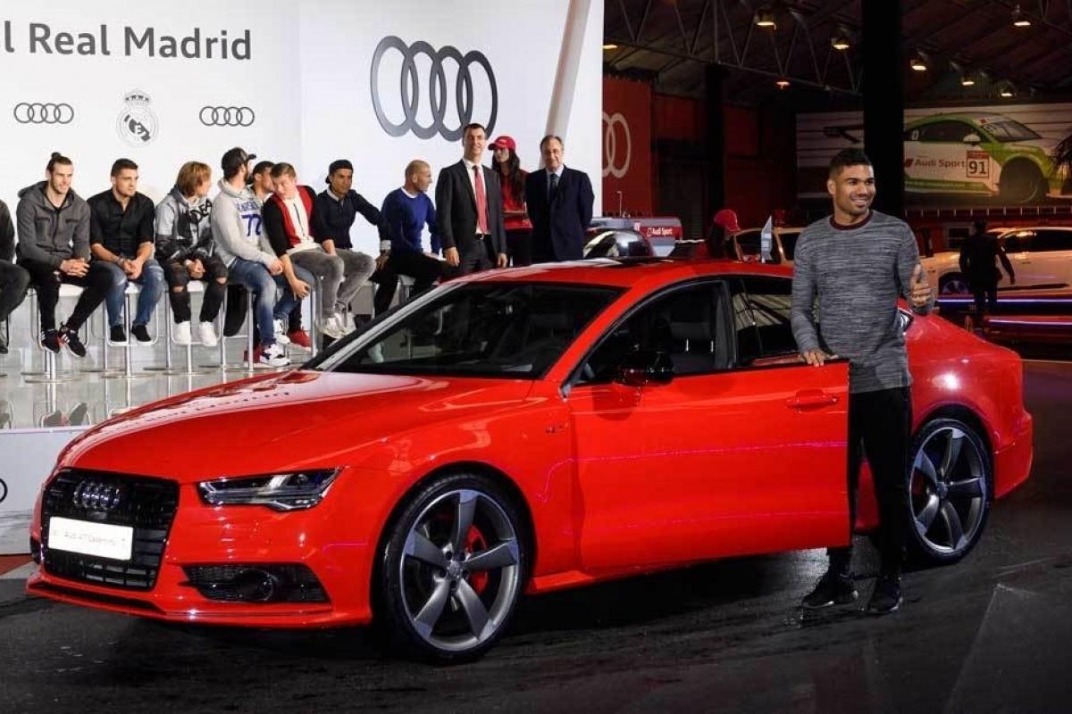 Audi Real Madrid Sponsoring 2017 Auto55 Be
