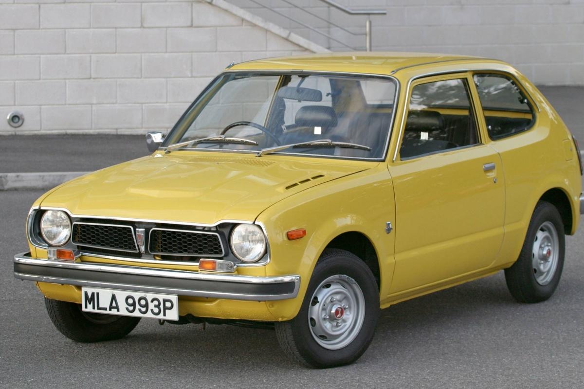 Honda Civic (1972 - 1979) | Auto55.be | Retro