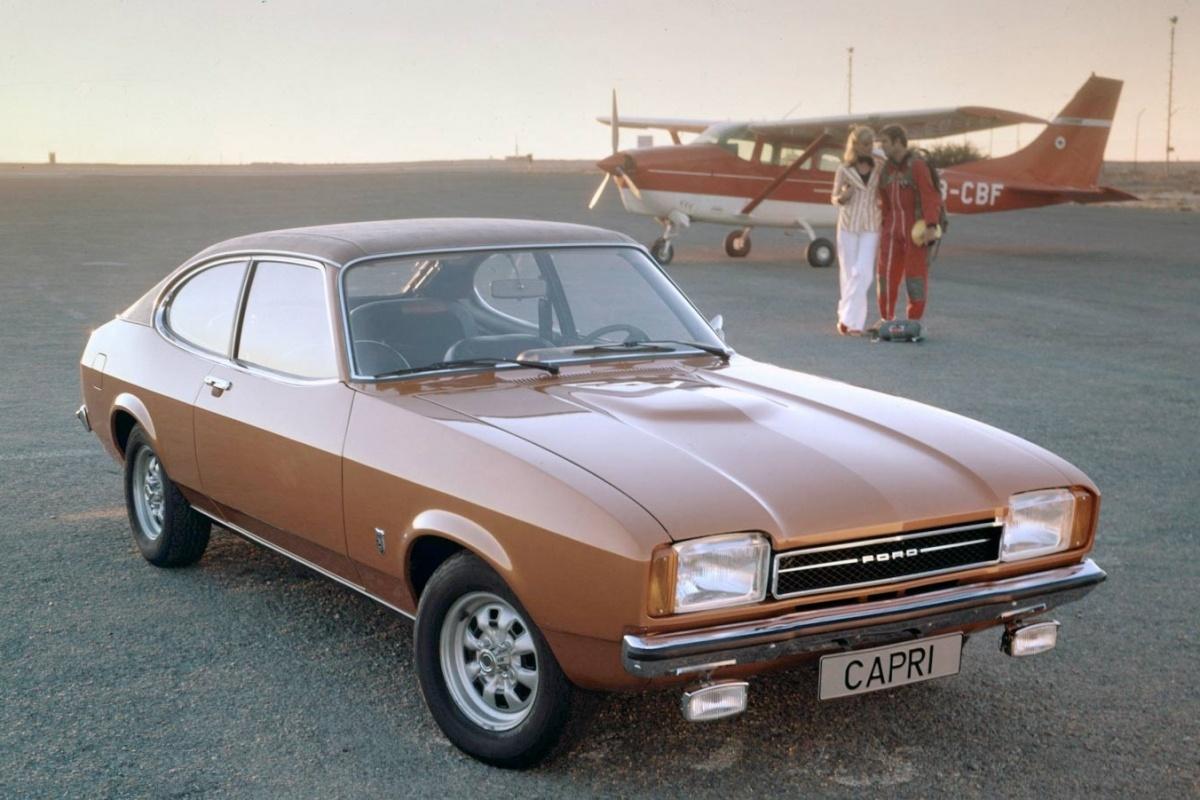 Ford Capri 1969 1984 Auto55 Be Retro