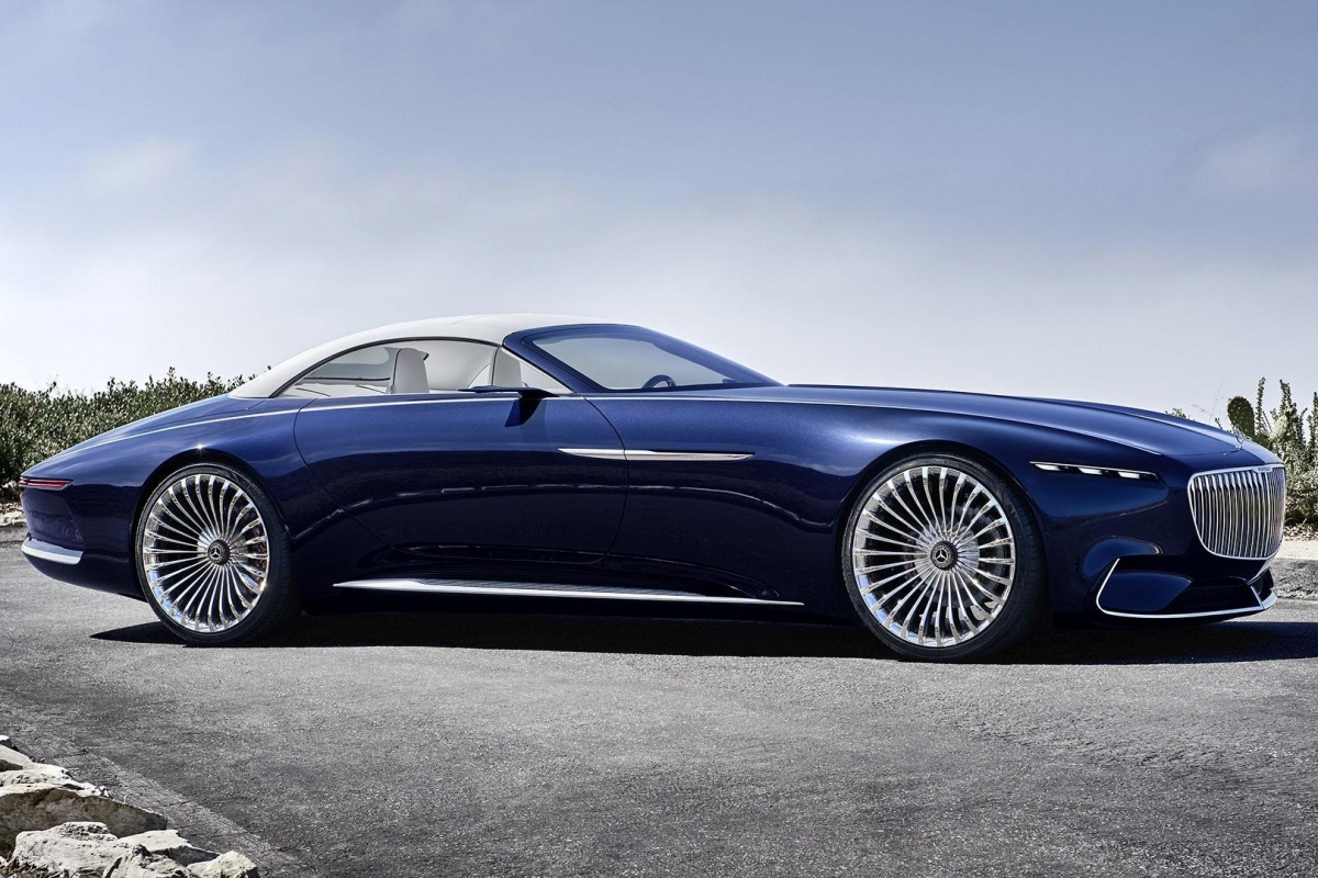Vision Mercedes-Maybach 6 Cabriolet | Auto55.be