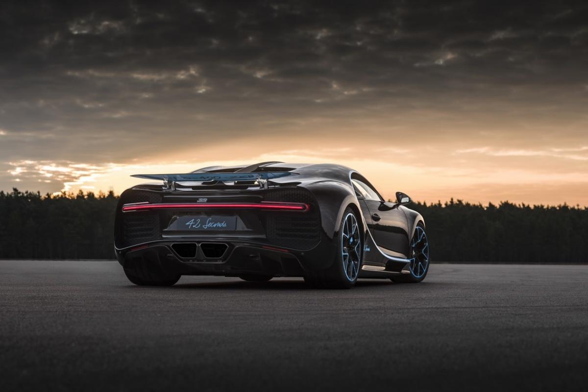 Bugatti Chiron Doet 42 Seconden Over Auto55 Be Nieuws