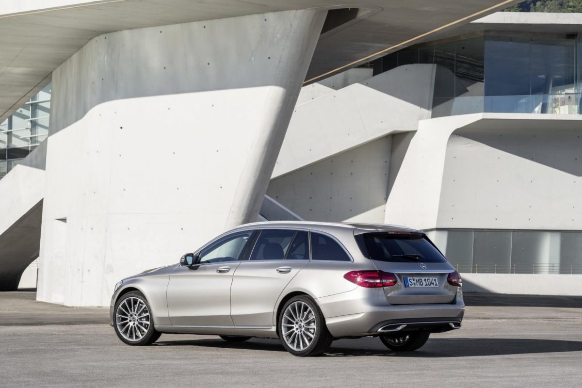 Mercedes C Klasse De Facelift Auto55 Be Nieuws