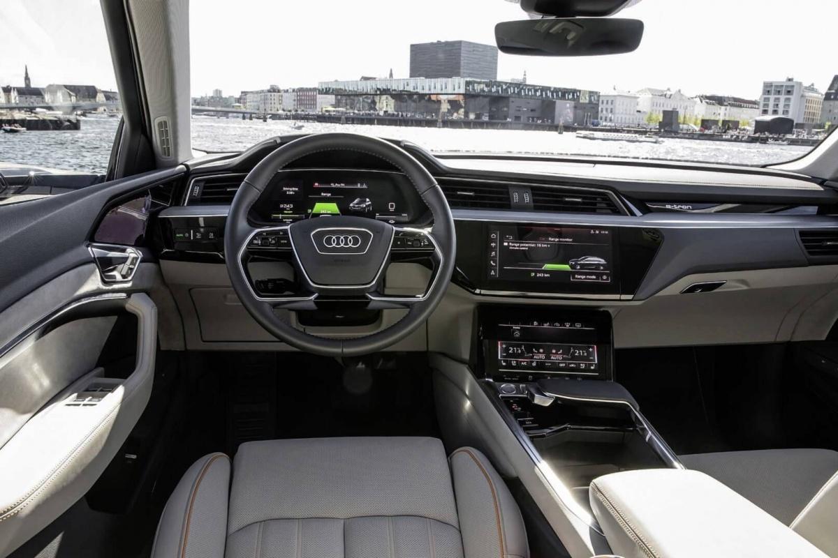 Audi E Tron 5 233 Crans R 233 Troviseurs Virtuels Auto55 Be