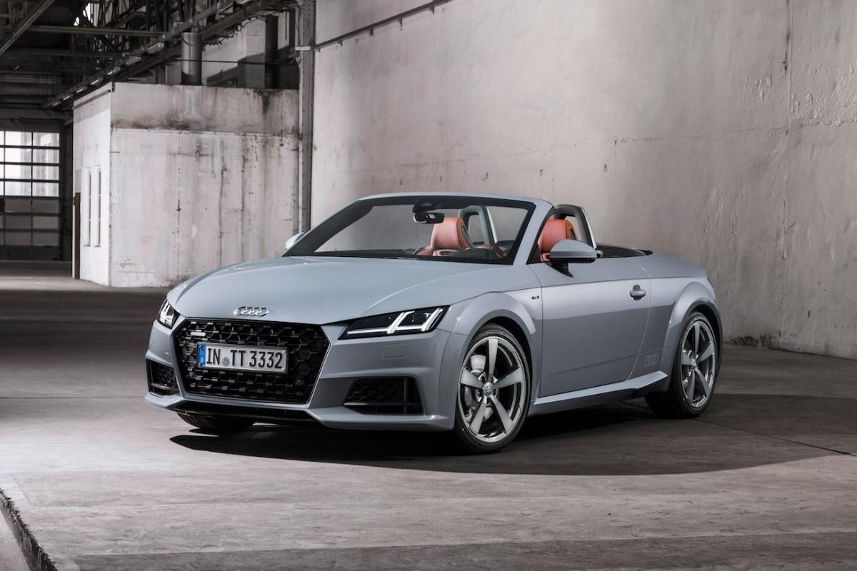 Audi Tt Facelift En 20 Jahre Edition Auto55 Be Nieuws
