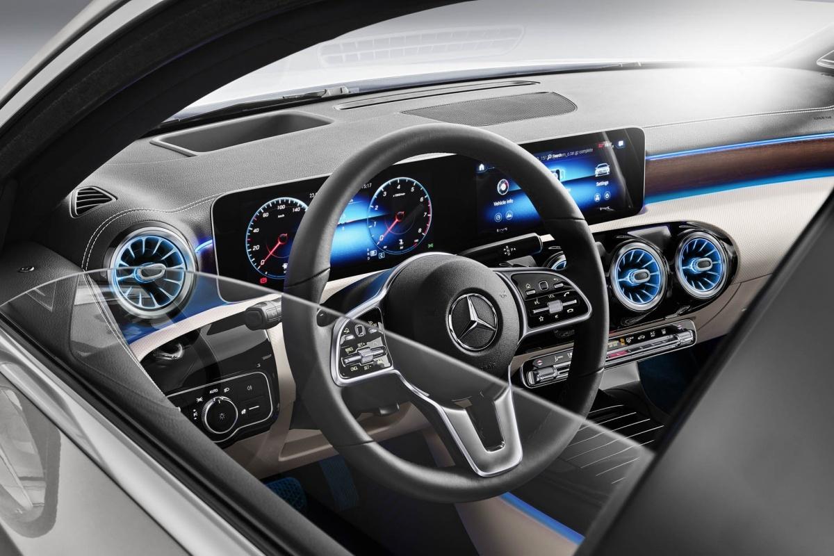 Mercedes Presenteert A Klasse Sedan Auto55 Be Nieuws