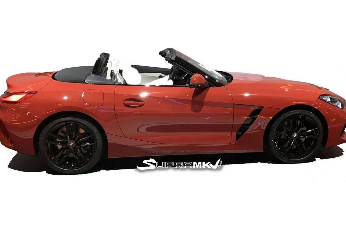 fuite voici la nouvelle bmw z4 actualit. Black Bedroom Furniture Sets. Home Design Ideas