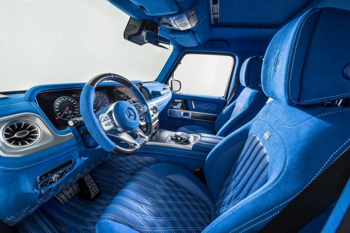 Brabus Geeft G Klasse Blauw Inerieur Auto55 Be Nieuws