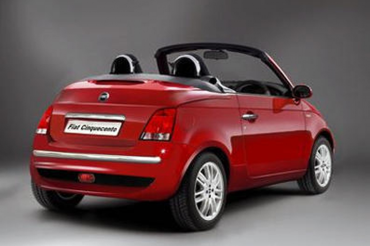 fiat 500 cabrio in mei bij de dealers nieuws. Black Bedroom Furniture Sets. Home Design Ideas