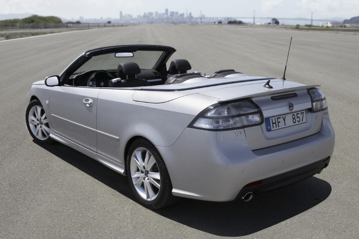 saab 9 3 cabrio 1 9 ttid tests. Black Bedroom Furniture Sets. Home Design Ideas