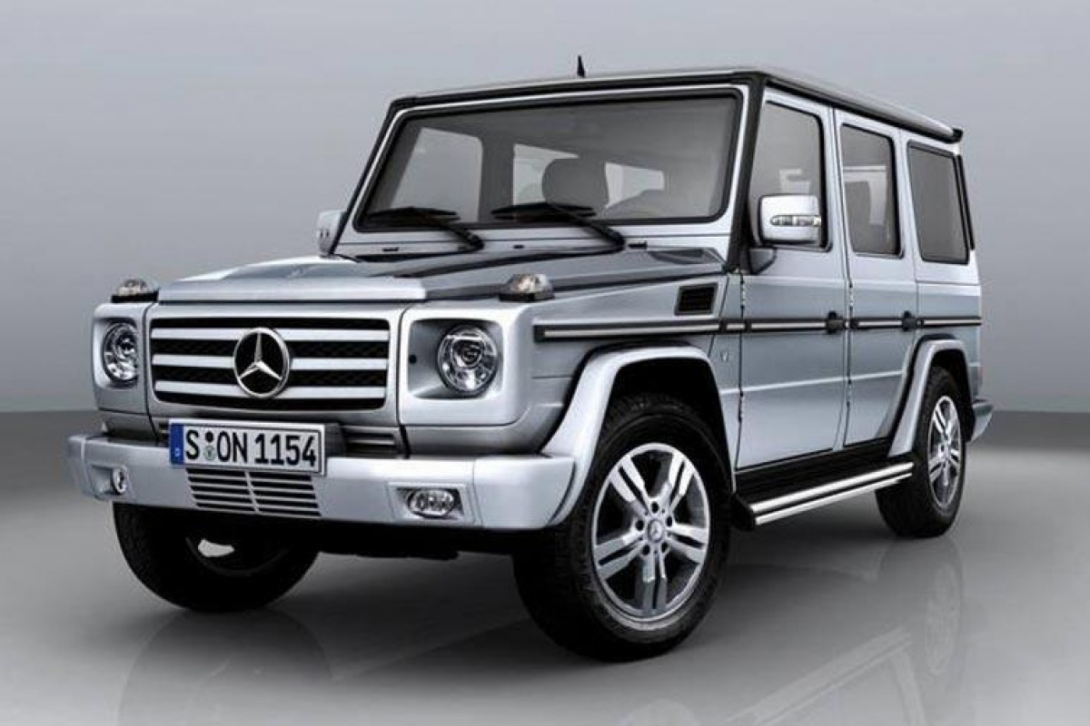 mercedes g klasse met amg power nieuws. Black Bedroom Furniture Sets. Home Design Ideas