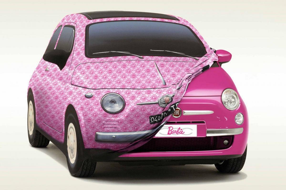 vw beetle et fiat 500 barbie actualit. Black Bedroom Furniture Sets. Home Design Ideas
